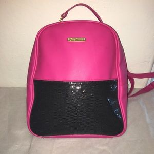 JUICY COUTURE SEQUIN SMALL BACKPACK